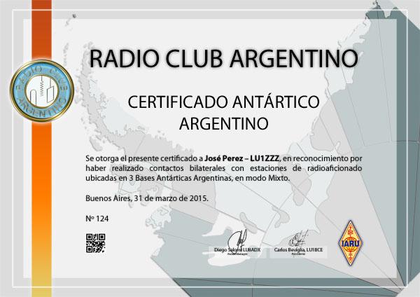 se deber acreditar haber contactado con estaciones de bases antrticas argentinas luz
